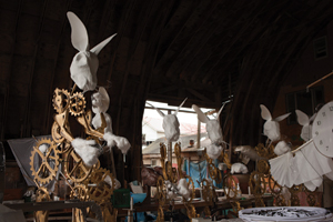 Twelve-Foot Tall Rabbits of Rokeby Farms
