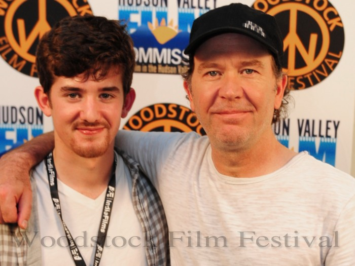 wff - Director of the documentary Noah Hutton with his father ...