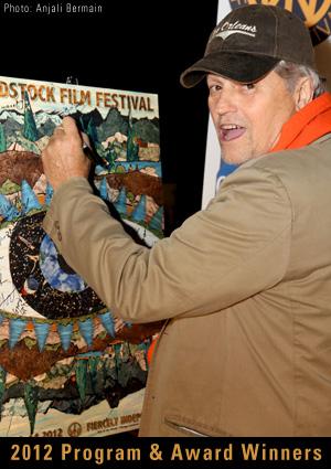 Jonathan Demme at 2012 Woodstock FIlm Festival