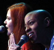 Kate Pierson & Gail Ann Dorsey - Photo by Ben Caswell