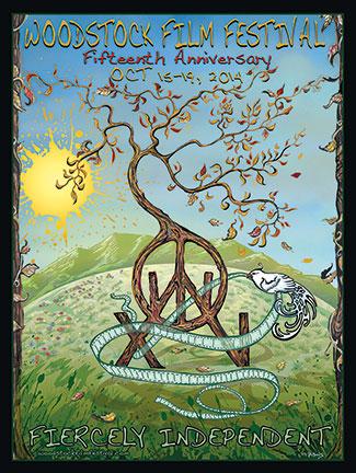 2014 Woodstock Film Festival POSTER