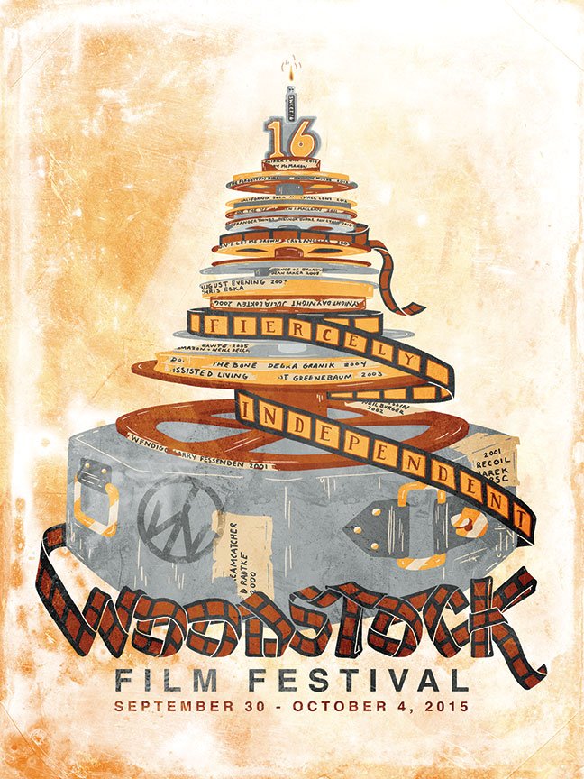 Official WFF 2013 artwork will be unveiled in Woodstock, NY and available here for download on July 12th, 2013